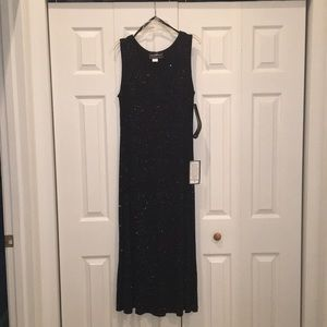 Brand New with tags elegant and formal black dress